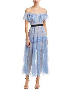 2bbe706768e4 Self-Portrait Midi Dress ; Our price: $399.99 Self Portrait Dress, Best  Designer