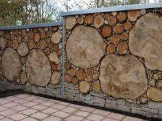 Картинки по запросу красивый забор из дерева