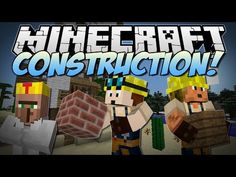 Minecraft | CONSTRUCTION! (Turn Blueprints into EPIC Kingdoms!) | Mod Showcase - YouTube