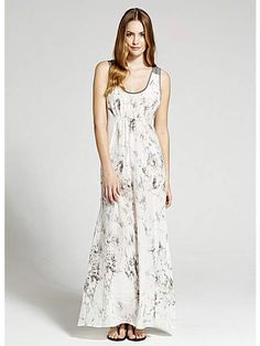 Ivory jasmine print maxi dress, love this it is so soft and feminine. I got a short scrappy very similar one last summer and wore it loads.