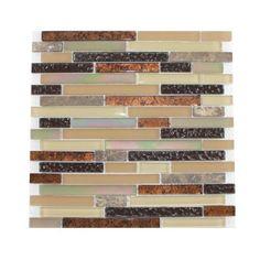 Glass Tile and Stone Copper Strips Mosaic Backsplash by Glass Tile, http://www.amazon.com/dp/B00488FL9U/ref=cm_sw_r_pi_dp_a.Lfrb1FC3DC2