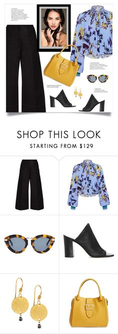 """""""Street Chic"""" by fashionmonkey1 ❤ liked on Polyvore featuring Lemaire, TIBI, Karen Walker, 1.State, Gurhan and Burberry"""