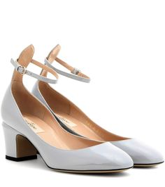 Valentino Patent Leather Tan-Go Pumps Gr. IT 38 GTGXV