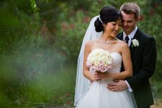 Sweet and Simple Backyard Wedding in California: The Couple:  Ashley and Jeff  The Wedding:  Private Residence, Pasadena, California