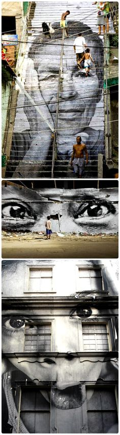 The street art of JR