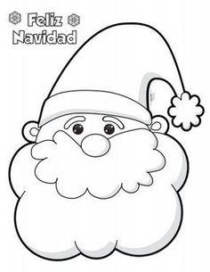 Trabajamos la motricidad con una manualidad navideña: Santa Claus en algodón y bolitas de papel
