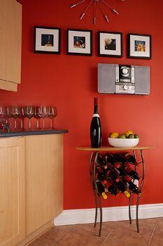Orange Kitchen Decorating Ideas | Orange Kitchen Decor