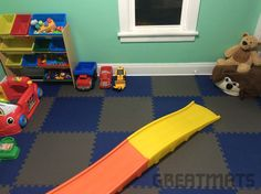 This is by far the best flooring! Installed it in my boys play room in about 2 hrs time. Easy install, looks great. Can be wiped clean and swept with a broom. The boys love this flooring would definitely install this again. - Paul, Eau Claire, WI