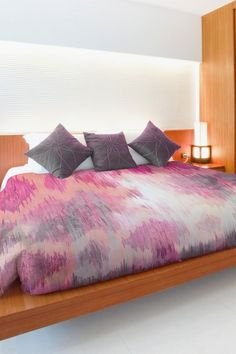 Oliver Gal by One Bella Casa Adagio Pink Multi Duvet Cover by Lightning E-Commerce on @HauteLook