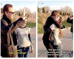 He is incredibly kind to his fans.   14 Reasons Why Tom Hiddleston Probably Isn't Real