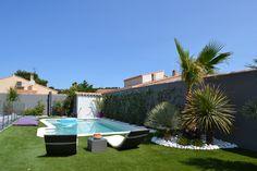 Conception et création d'un jardin contemporain, La Bédoule, Vert Tige