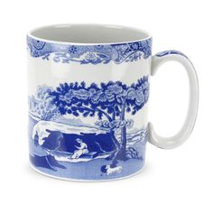 Spode Blue Italian Mug Set of 4 * You can get more details by clicking on the image.  This link participates in Amazon Service LLC Associates Program, a program designed to let participant earn advertising fees by advertising and linking to Amazon.com.