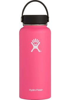 Hydro Flask Wide Mouth Bottle with Flex Cap Water Bottle Storage, Cute Water Bottles, Best Water Bottle, Stainless Steel Growler, Stainless Steel Water Bottle, Hydro Flask Water Bottle, Insulated Water Bottle, Pink Hydro Flask, Filter Bottle