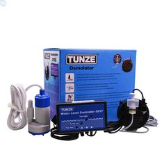 For fish and coral water stability -  Tunze 3155 Osmolater Universal Auto Top Off. Despite its higher price this is by far our favorite solution. Spending the extra money on a Tunze Osmolater will give you that extra peace of mind and insurance from having a disaster that ruins carpets or hard wood floors. For the value, and reliability it is hard to beat.Max Head Height: 7.2 ft