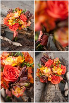 "buchet mireasa - bridal bouquet ( autumn ) - ""autumn feeling"" 
