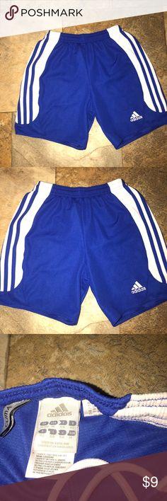 Adidas Soccer shorts Euc Youth Medium (6-8) Adidas Soccer shorts Euc Youth Medium (6-8) minor wear shown in pictures adidas Bottoms Shorts