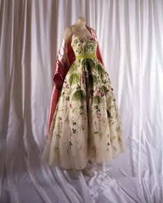 Christian Dior May Ball Gown spring/summer 1953