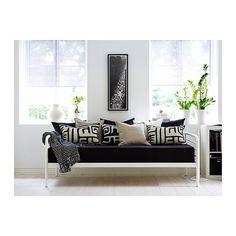 Cojines para sofa negro | Decorar tu casa es facilisimo.com