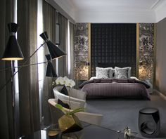 Una suite de hotel con glamour | Decorar Una Casa