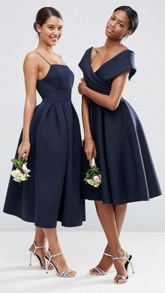 Off the shoulder bridesmaid dress