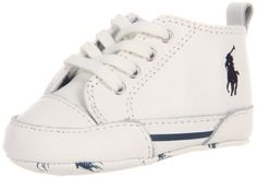 Ralph Lauren Layette Classic Pony Fashion Sneaker (Infant/Toddler) Ralph Lauren Layette. $40.00. leather. Flexible soft sole. Leather sole. Beautiful gift packaging
