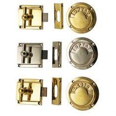Produkter – Låser og tilbehør til dører – dørbeslag - 3503 Toalettlås - kopi av gammel