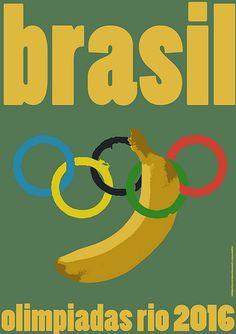 Olympic Banana, Rio 2016