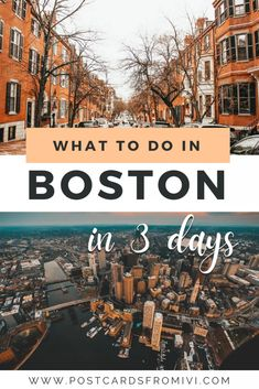 What to do in 3 days in Boston, complete itinerary #Boston #USA #getaway #Massachusetts #UnitedStates #Itinerary Usa Travel Guide, Travel Usa, Travel Guides, Travel Tips, East Coast Usa, East Coast Travel, Visit Usa, Us Travel Destinations, United States Travel