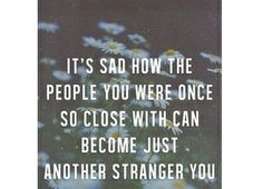 People, Strangers #QUOTE