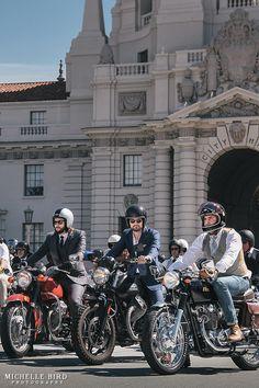 The Distinguished Gentleman's Ride | Los Angeles | Motorcycle | Menswear