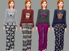 mysimlifefou's Sweet Dream Pajama Set