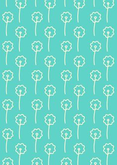 FREE printable turquoise pattern paper ^^