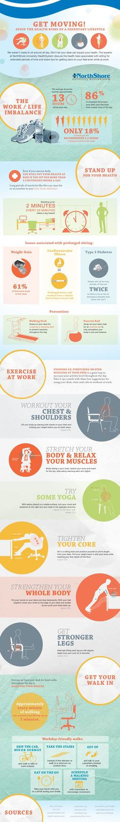 Get Moving! Avoid the Health Risks of a Sedentary Lifestyle