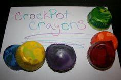 Crockpot Crayons!