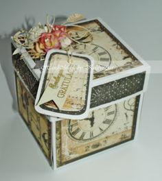 exploding box  for wedding