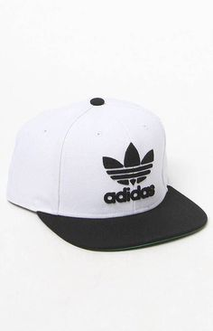 best sneakers cc781 65532 adidas Originals Thrasher White and Black Snapback Hat at PacSun.com
