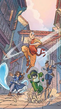 Nickelodeon Avatar: The Last Airbender - Imbalance TPB 1 - Read Nickelodeon Avatar: The Last Airbender - Imbalance TPB 1 comic online in high quality Avatar Aang, Avatar Airbender, Avatar Legend Of Aang, Team Avatar, Legend Of Korra, Avatar Fan Art, Aang The Last Airbender, Avatar Funny, The Last Avatar