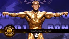Top 10 Indian Body-Builders from Manipur