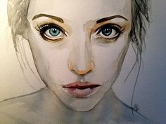 Image result for watercolour portraits