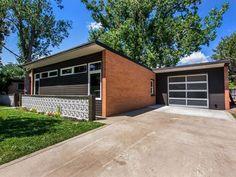 brick and wood mid century mordern homes' exteriors - Google ...