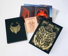 Dungeons and Dragons Art and Arcana [Special Edition, Boxed Book & Ephemera Set]: A Visual History: Michael Witwer, Kyle Newman, Jon Peterson, Sam Witwer, Joe Manganiello: 9780399582752: Amazon.com: Books