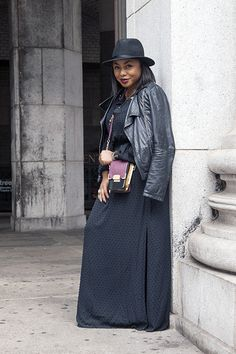 check out my tips on how to wear a maxi in the fall and beyond