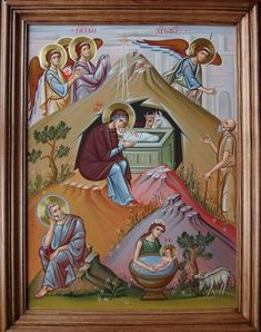 Finding Jesus, Christmas Icons, Icon Collection, Holy Family, Orthodox Icons, Bible Stories, Sacred Art, Christian Art, Pink Roses