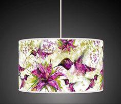 30cm Purple Green Flower Hummingbird Watercolour Handmade Giclee Style Printed Fabric Lamp Drum Lampshade Floor Ceiling Pendant Light Shade 634 BeNeLux http://www.amazon.co.uk/dp/B00YJCU9L0/ref=cm_sw_r_pi_dp_WxRCwb1V128ZQ