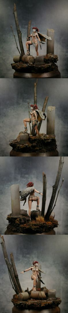 """White Speaker. """"Great paint job. To the sculptors I would say, enough with the high heels."""" John S."""