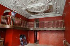 lekaren u Salvatora vnutro po rekonstrukcii Bratislava, Stairs, Home Decor, Stairway, Decoration Home, Room Decor, Staircases, Home Interior Design, Ladders