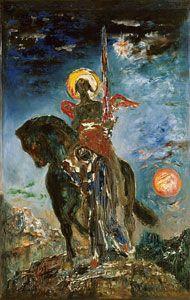 ギュスターヴ・モロー 《パルクと死の天使》      1890年頃 ギュスターヴ・モロー美術館  ©RMN-GP/René-Gabriel Ojéda/distributed by AMF