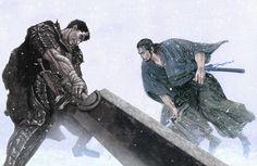 Musashi Horse Illustration, Character Illustration, Graphic Wallpaper, Hd Wallpaper, Wallpapers, Vagabond Manga, Inoue Takehiko, Black Armor, Miyamoto Musashi
