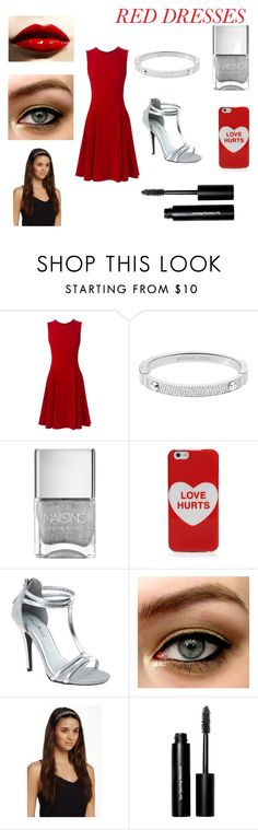 """""""#lovehurts"""" by ashfur123 on Polyvore featuring Dolce&Gabbana, Michael Kors, Marc Jacobs, Natasha Accessories, Bobbi Brown Cosmetics, women's clothing, women, female, woman and misses"""