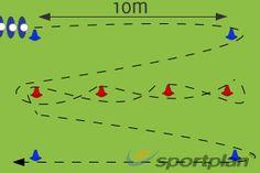 Illinois Agility Run Test Speed Footwork Drills Agility